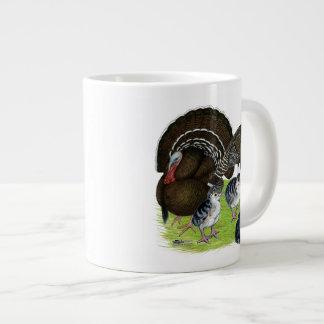 Turkey Standard Bronze Family Large Coffee Mug