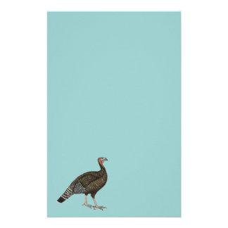 Turkey:  Standard Bronze Hen Stationery