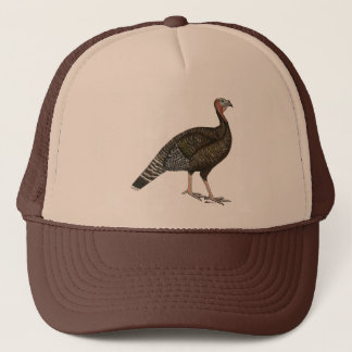 Turkey:  Standard Bronze Hen Trucker Hat