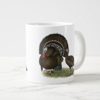 Turkey Standard Bronze Large Coffee Mug