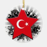 Turkey Star Ornaments