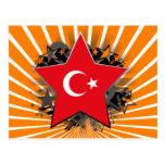 Turkey Star Postcard