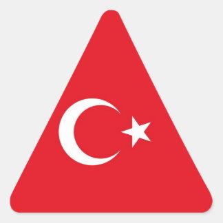 TURKEY TRIANGLE STICKER
