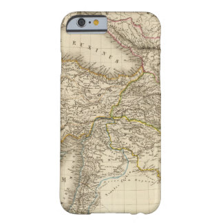 Turkey Syria map Barely There iPhone 6 Case