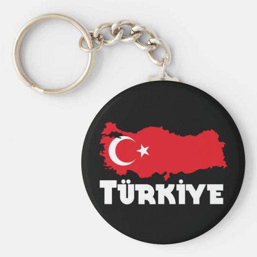 Turkey T-Shirts & Gifts Basic Round Button Keychain
