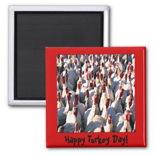 Turkey Thanksgiving Magnet
