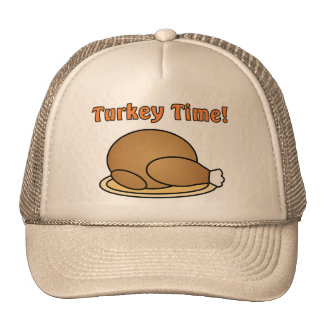 Turkey Time Thanksgiving Hat