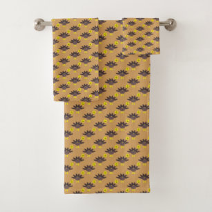 Turkey Time Thanksgiving Patterned Towels