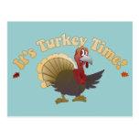 Turkey Time [Thanksgiving] Postcard