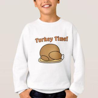 Turkey Time Thanksgiving Sweatshirt