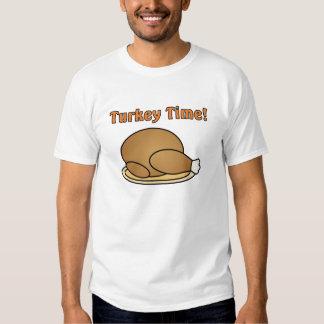 Turkey Time Thanksgiving T-Shirt