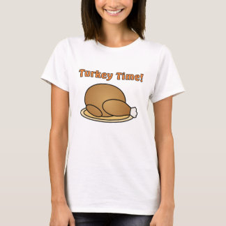 Turkey Time Thanksgiving T-Shirt