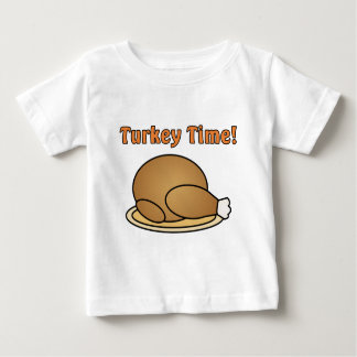 Turkey Time Thanksgiving Toddler Shirt