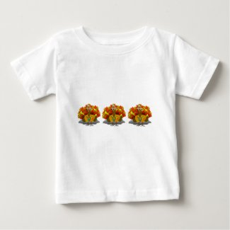 Turkey Tourist on Vacation Baby T-Shirt