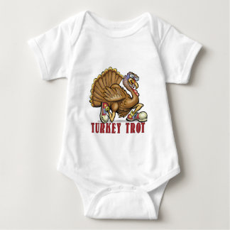 Turkey Trot Baby Bodysuit