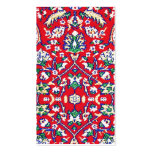 Turkey,Turkish Textile Cloth Rug Pattern Double-Sided Standard Business Cards (Pack Of 100)