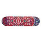 Turkey,Turkish Textile Cloth Rug Pattern Skateboard Deck