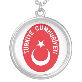Turkey (Turkiye) COA Silver Plated Necklace