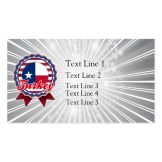 Turkey, TX Business Card Templates