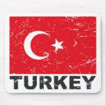 Turkey Vintage Flag Mousepad