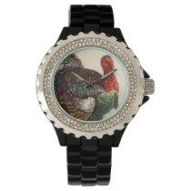 Turkey Vintage Thanksgiving Wrist Watch