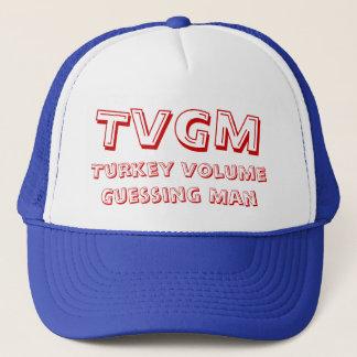 Turkey Volume Guessing Man Trucker Hat