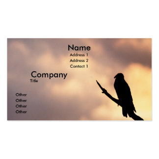 Turkey Vulture Business Card