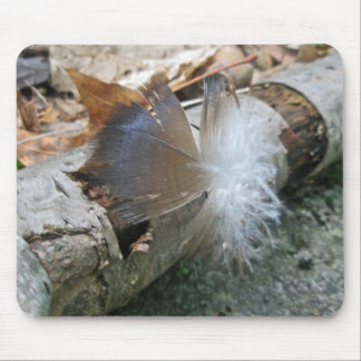 Turkey Vulture Feather Coordinating Items Mouse Pad