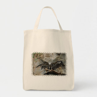 Turkey Vulture  Grocery Tote Bag