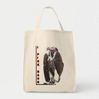 Turkey Vulture I Pick Back Posterized Photo Canvas Bag