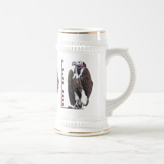 Turkey Vulture I Pick Back Posterized Photo Beer Stein