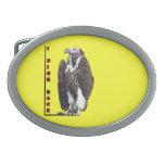 Turkey Vulture I Pick Back Posterized Photo Belt Buckle