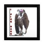 Turkey Vulture I Pick Back Posterized Photo Gift Box