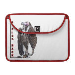Turkey Vulture I Pick Back Posterized Photo Sleeves For MacBook Pro