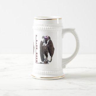 Turkey Vulture I Pick Back Posterized Photo Coffee Mugs