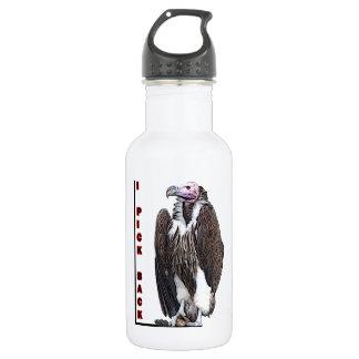 Turkey Vulture I Pick Back Posterized Photo 18oz Water Bottle