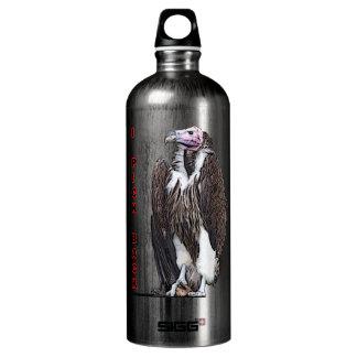 Turkey Vulture I Pick Back Posterized Photo Water Bottle