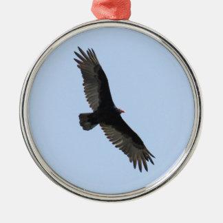 Turkey Vulture Metal Ornament