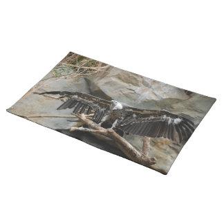 Turkey Vulture Placemat Cloth Placemat