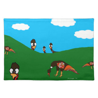 Turkey Watching Cloth Placemat