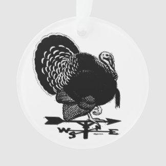 Turkey Weathervane Ornament