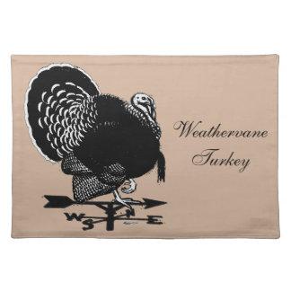 Turkey Weathervane Placemat
