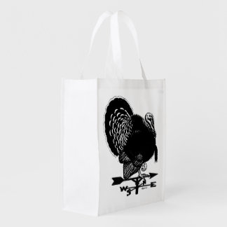 Turkey Weathervane Reusable Grocery Bag