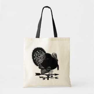 Turkey Weathervane Tote Bag