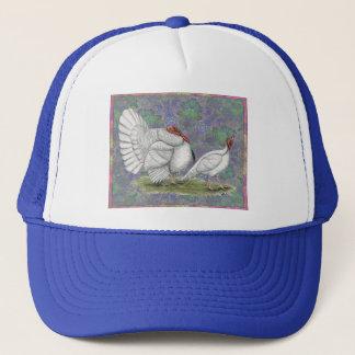 Turkey:  White Holland Pastel Trucker Hat