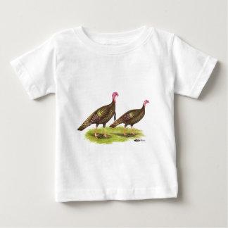 Turkey:  Wild Bronze Baby T-Shirt