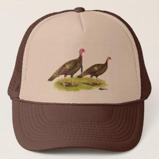 Turkey:  Wild Bronze Trucker Hat