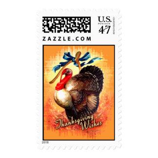 Turkey Wishes Postage Stamp