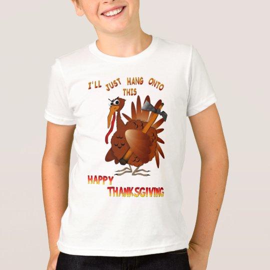 Turkey With An AX Shirt