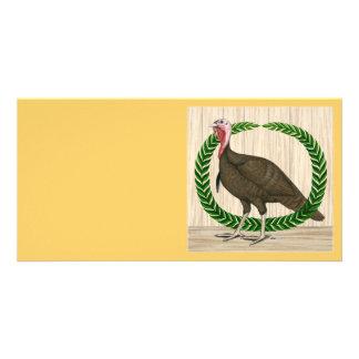 Turkey Wreath Card